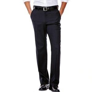 Men's No Iron Straight Fit Flat Front Dress Slacks